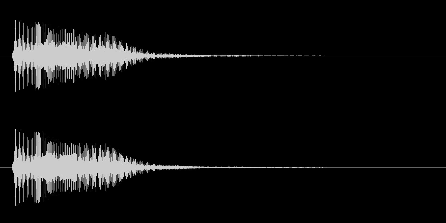 アプリ・ゲーム決定音_003の未再生の波形