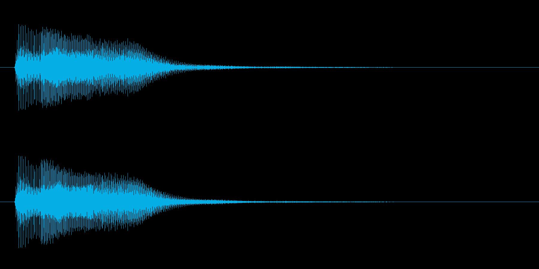 アプリ・ゲーム決定音_003の再生済みの波形