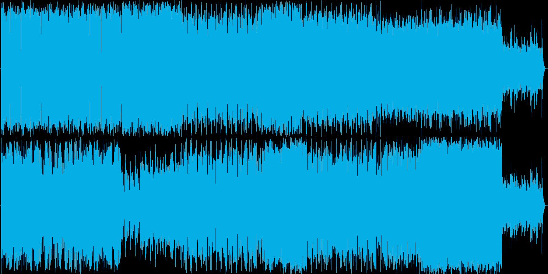スケールの大きいシンフォニーの再生済みの波形