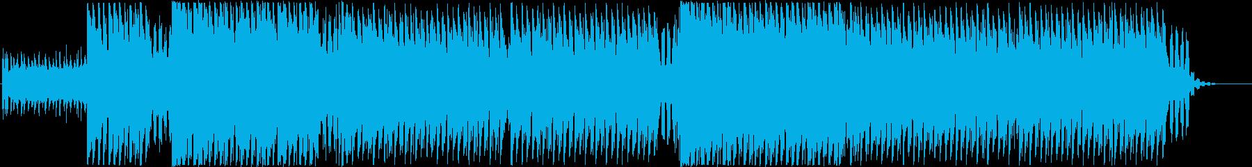 洋楽感のある夏らしいトロピカルハウスの再生済みの波形