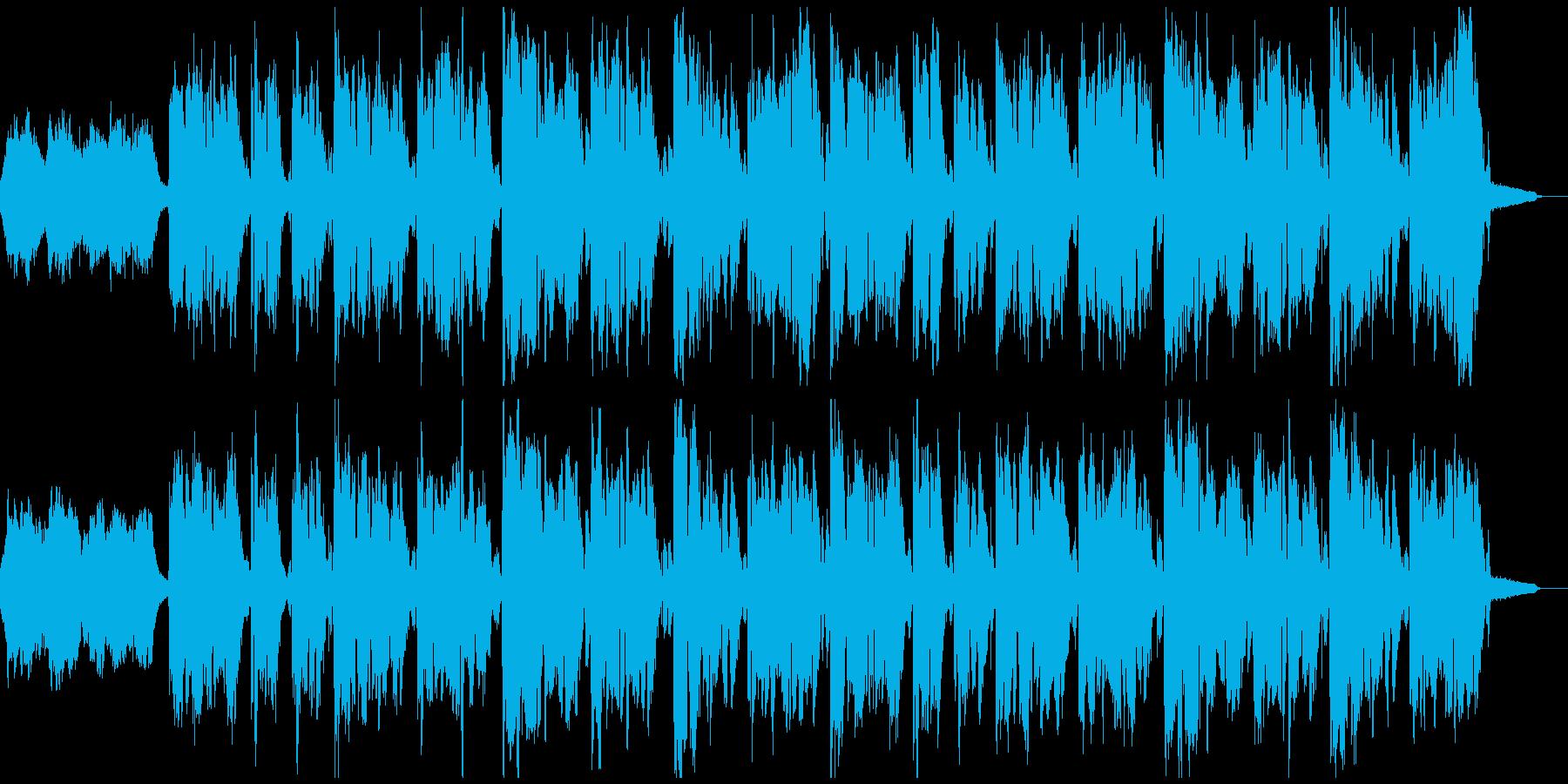 懐かしく優しい外国の民謡の再生済みの波形