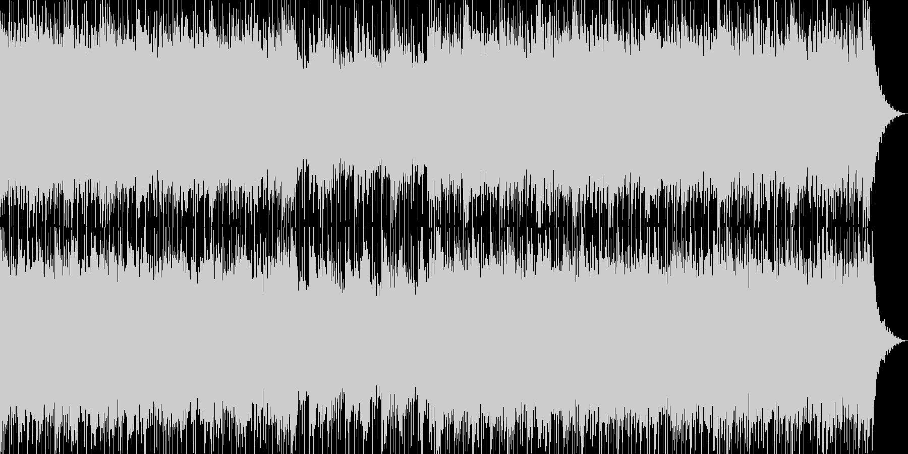 爽やかで軽いノリの明るいポップス-05の未再生の波形