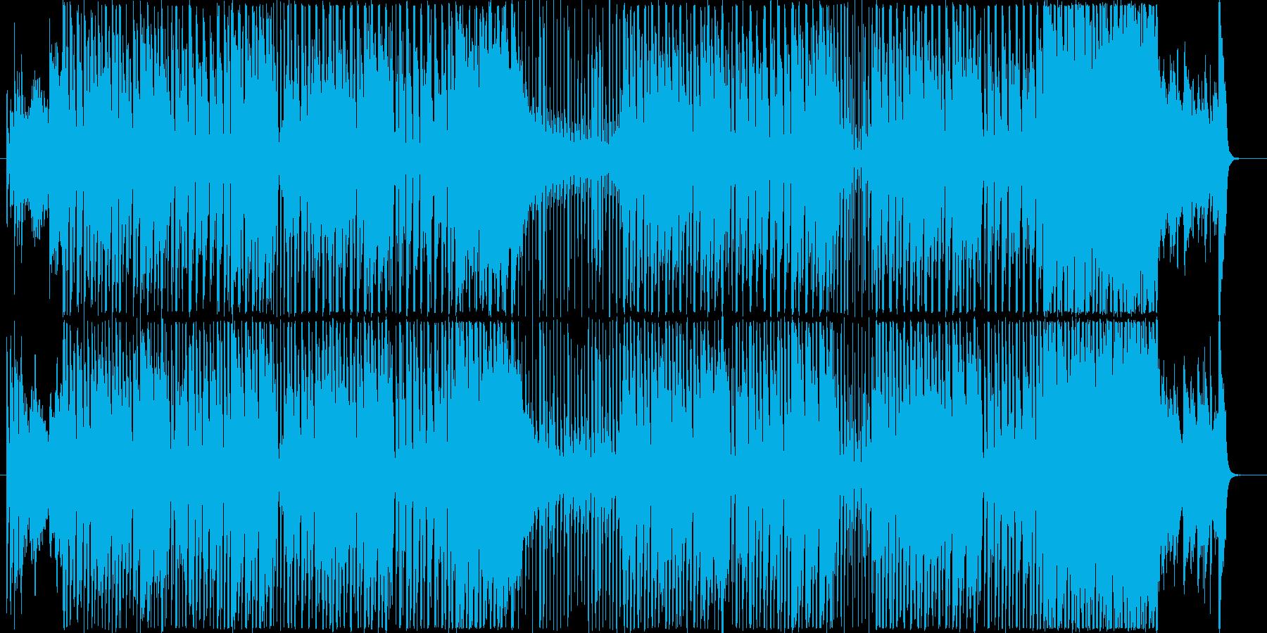 たいへんだ!急げっ!コミカルBGMの再生済みの波形