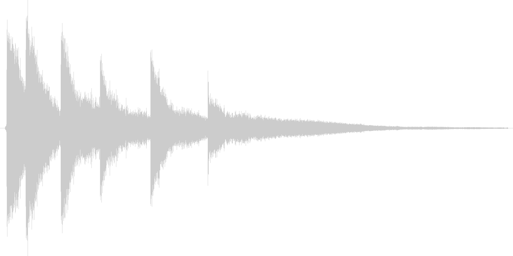 ディロロロローン という魔法にかかった…の未再生の波形