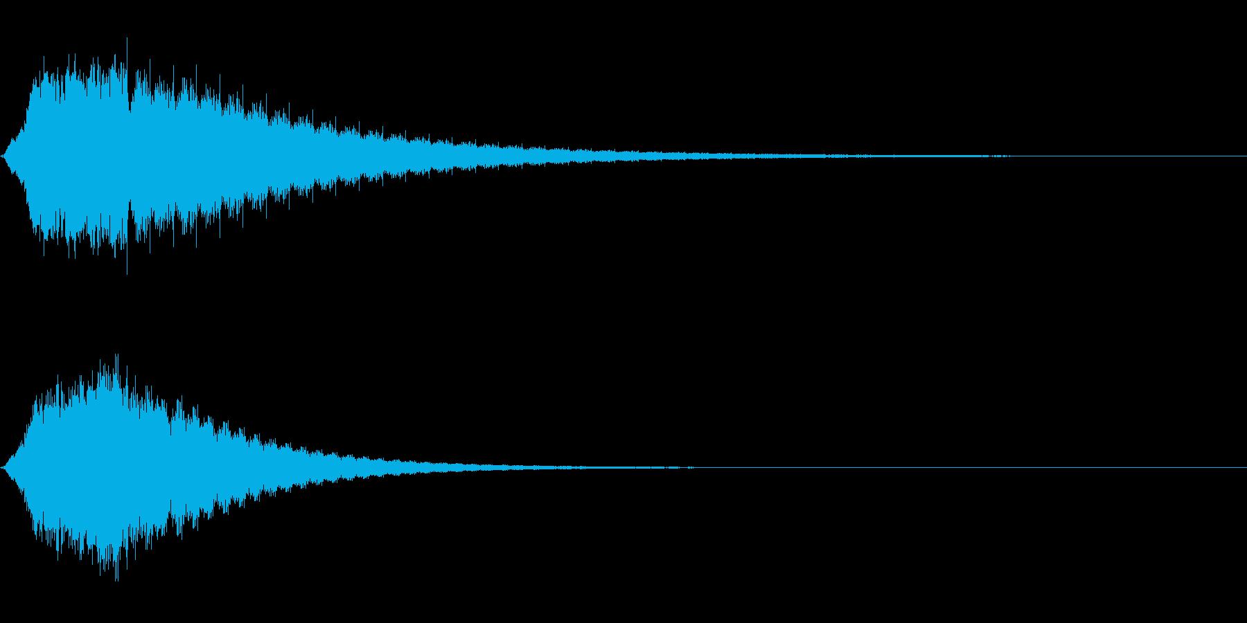 ギョーン (シリアス,ホラーな雰囲気)の再生済みの波形