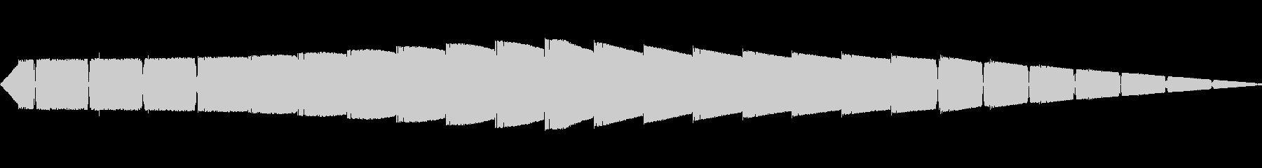ピピピピ(ピコピコ/ワープ警告/アラームの未再生の波形