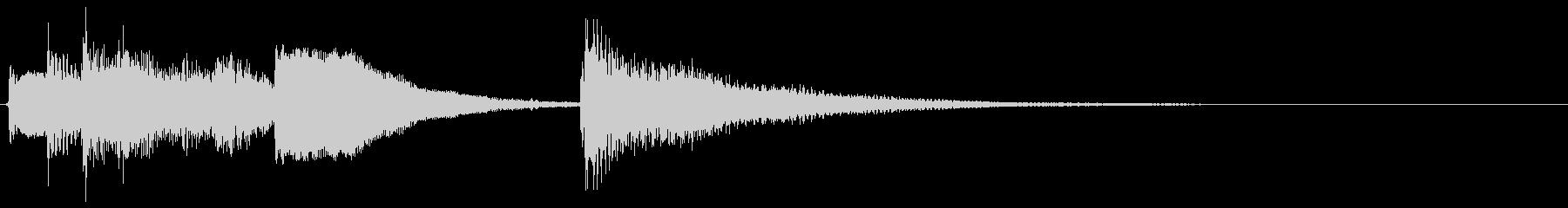 生音ギターのジングル/サウンドロゴ2の未再生の波形