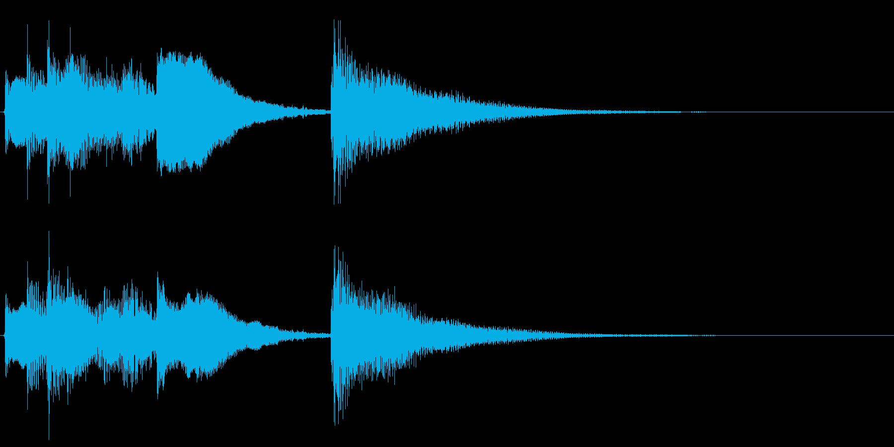 生音ギターのジングル/サウンドロゴ2の再生済みの波形
