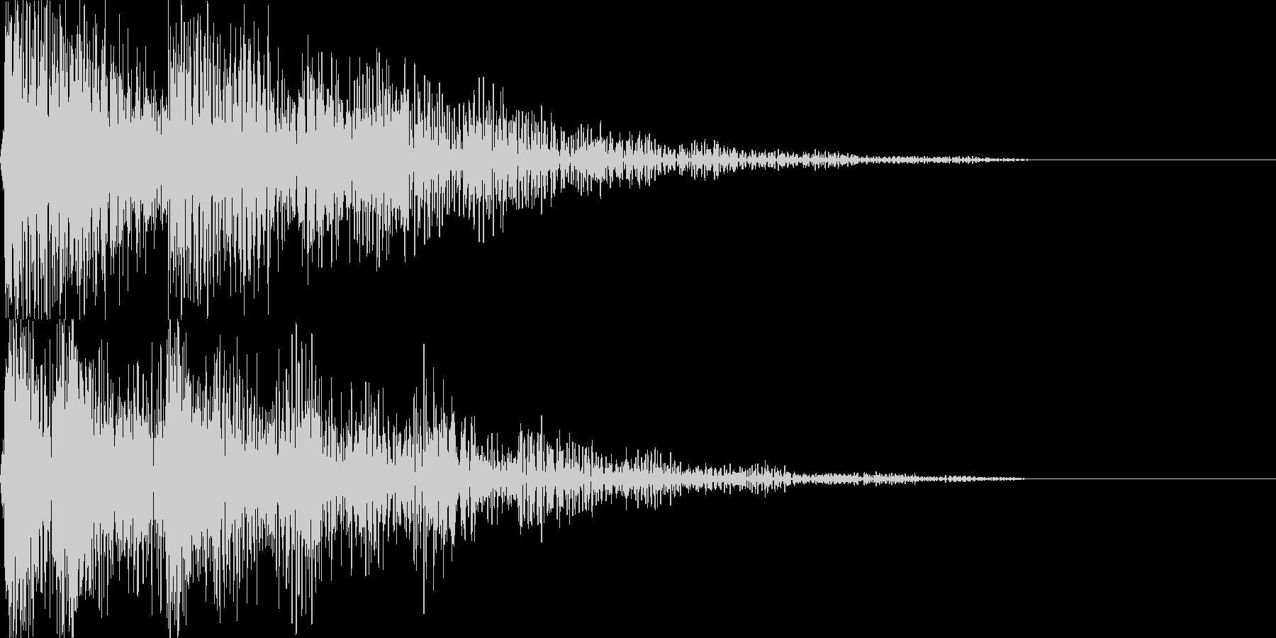 デデッドン セレクト音アプリ・ゲーム等にの未再生の波形