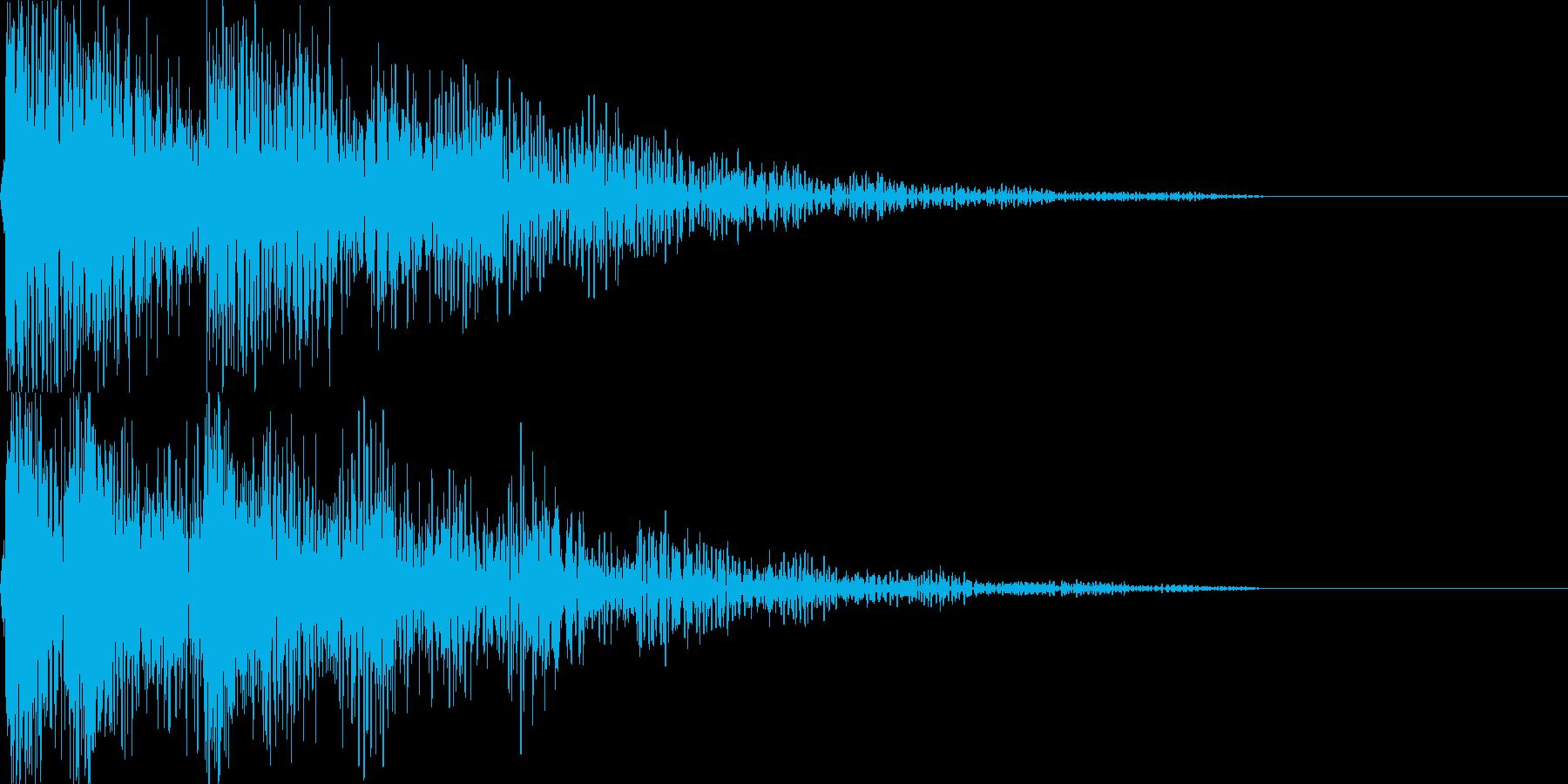 デデッドン セレクト音アプリ・ゲーム等にの再生済みの波形