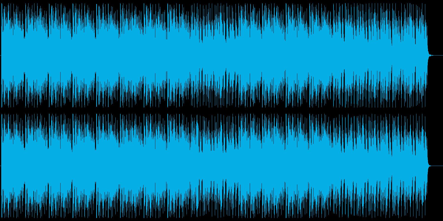 ダークでクールなダンスミュージックの再生済みの波形