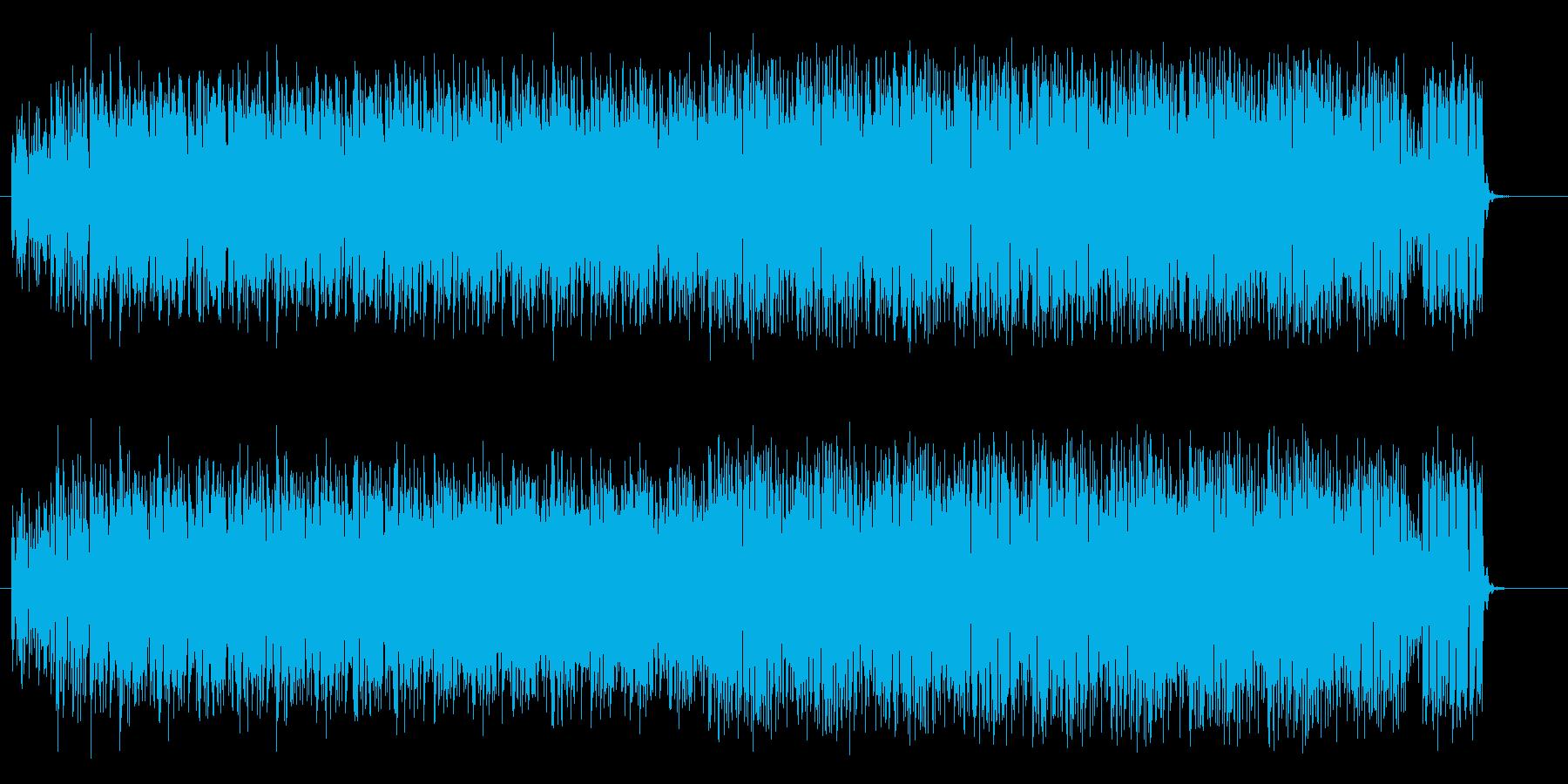 明るくはじけるようなシンセドラムサウンドの再生済みの波形