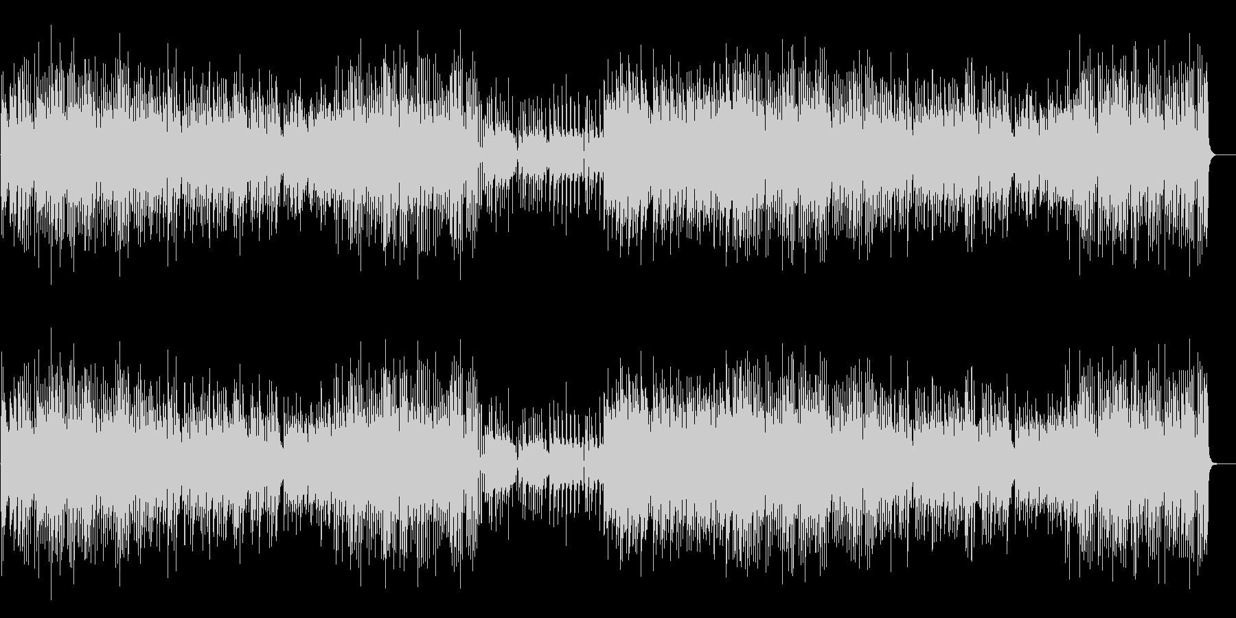 和の楽器を使用したコミカルなBGMですの未再生の波形