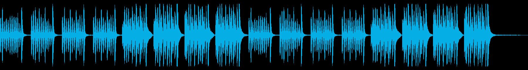 【youtube】ピアノの日常系BGMの再生済みの波形