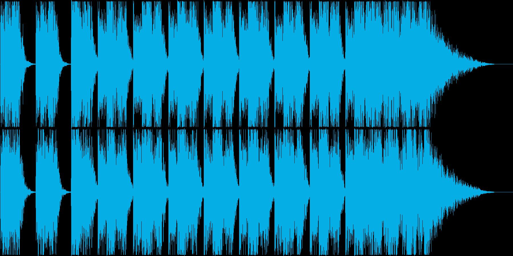 打楽器 BPM=120の再生済みの波形