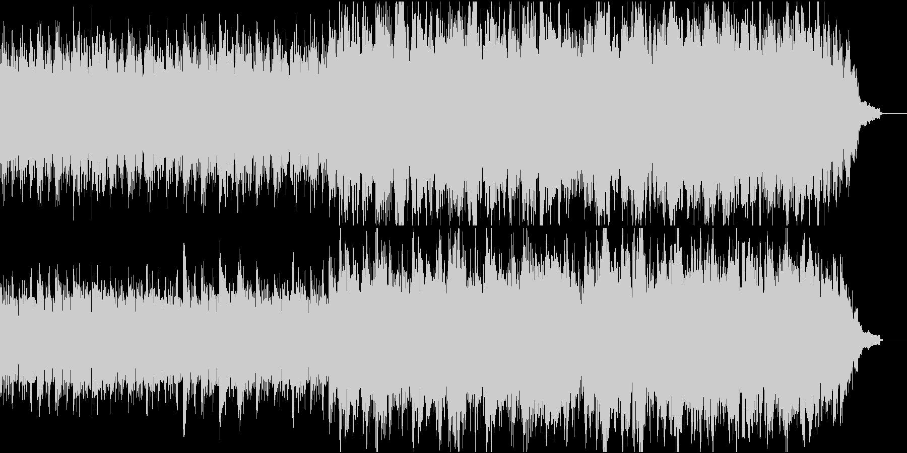 優しく感動的なピアノ+オケ⑤高音弦なしの未再生の波形