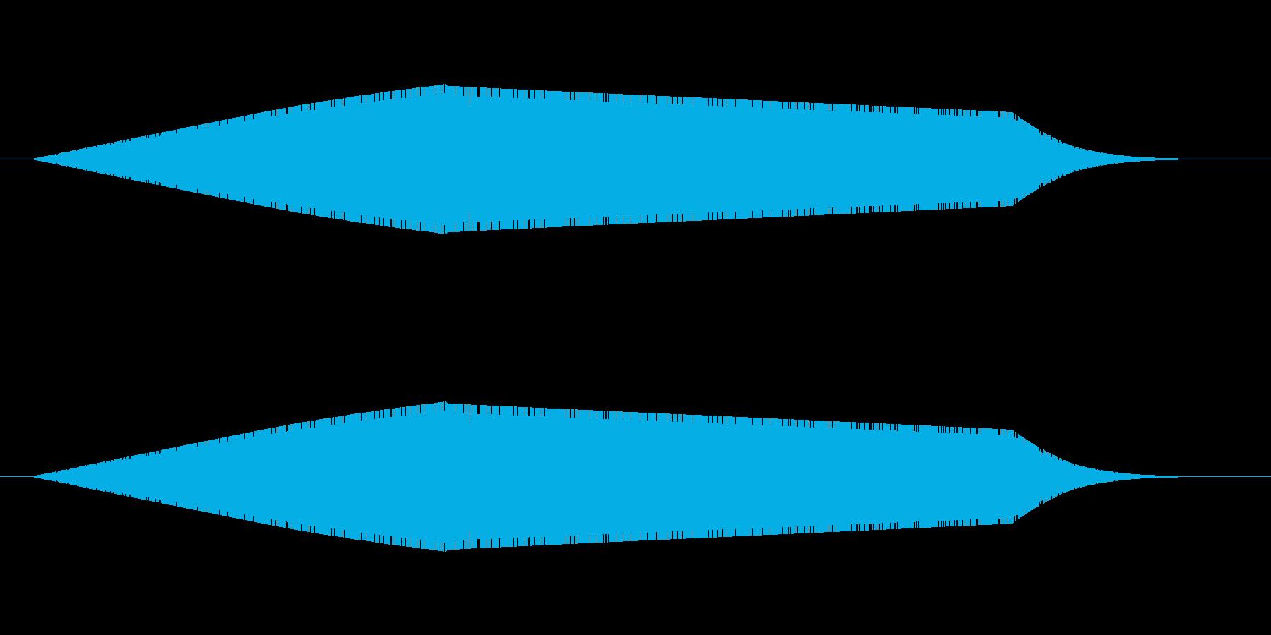 波の音(海)の再生済みの波形