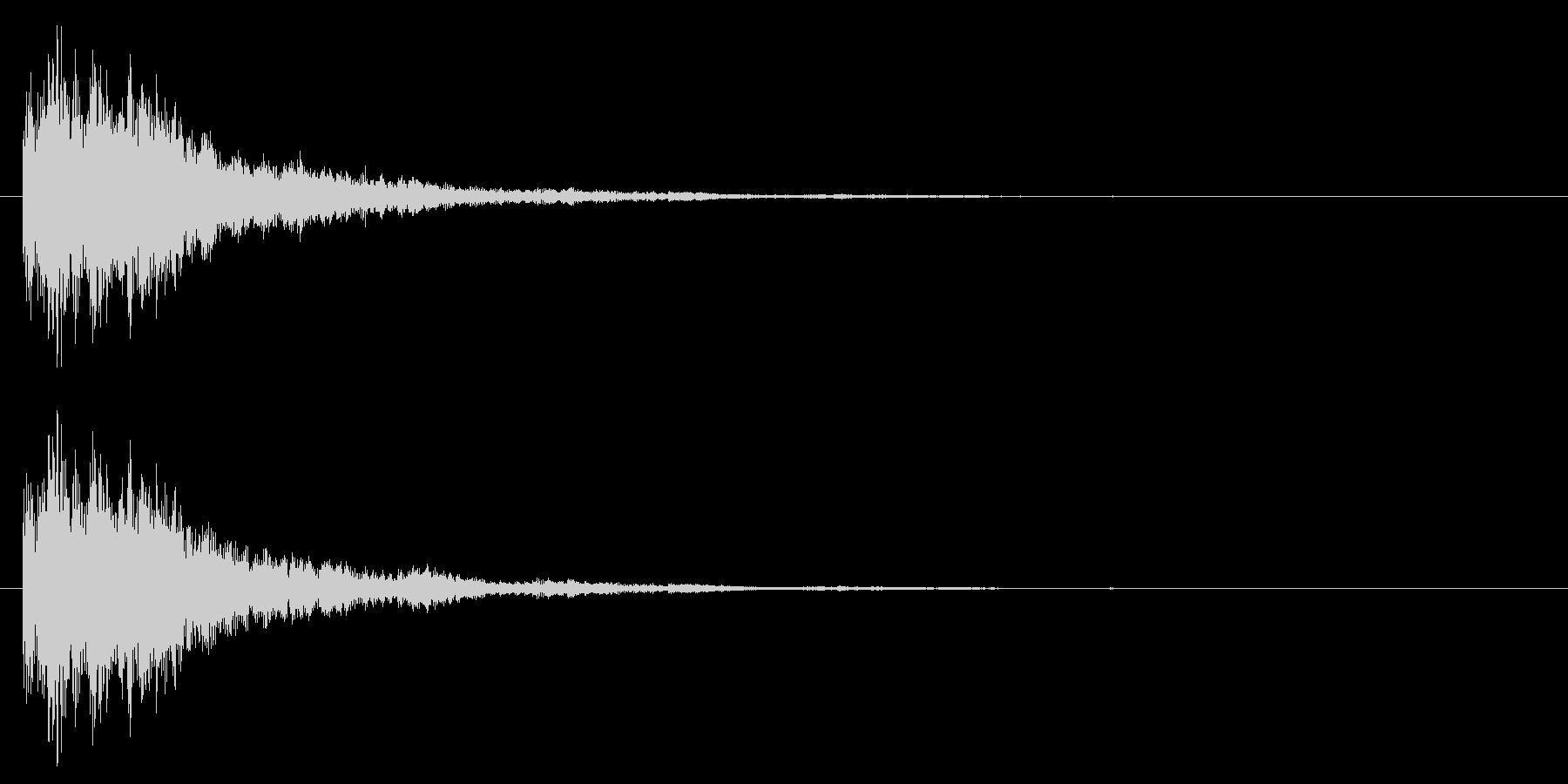 SF/決定音/スタート音の未再生の波形
