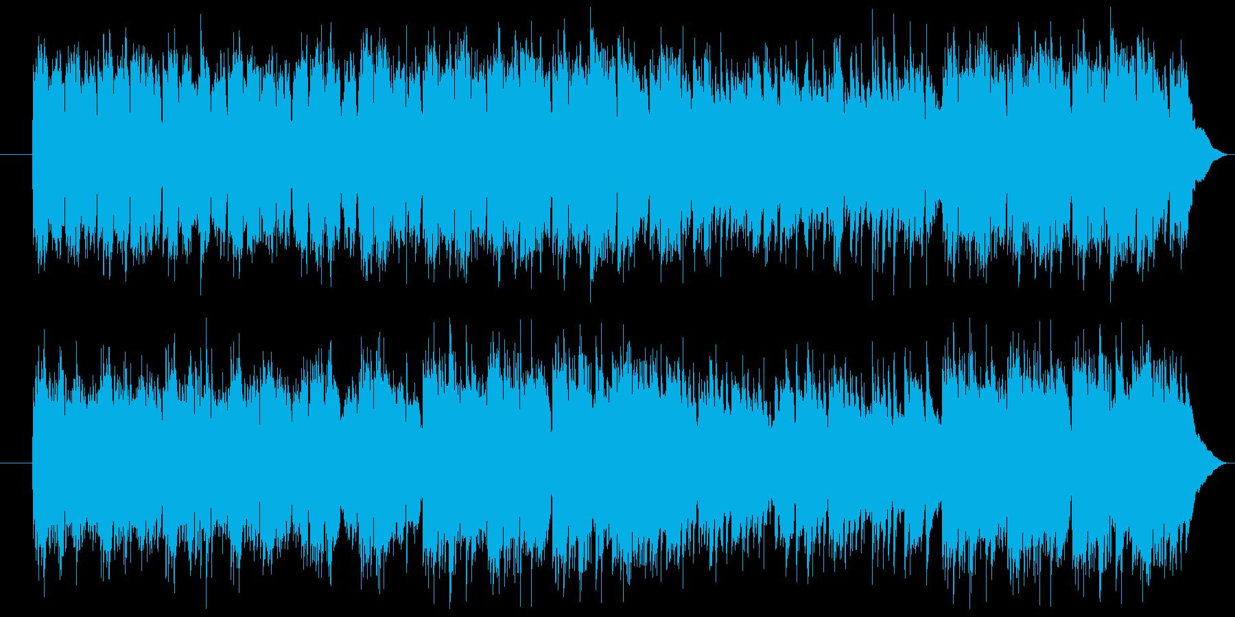 様々な用途で使える優雅なピアノソロ曲の再生済みの波形