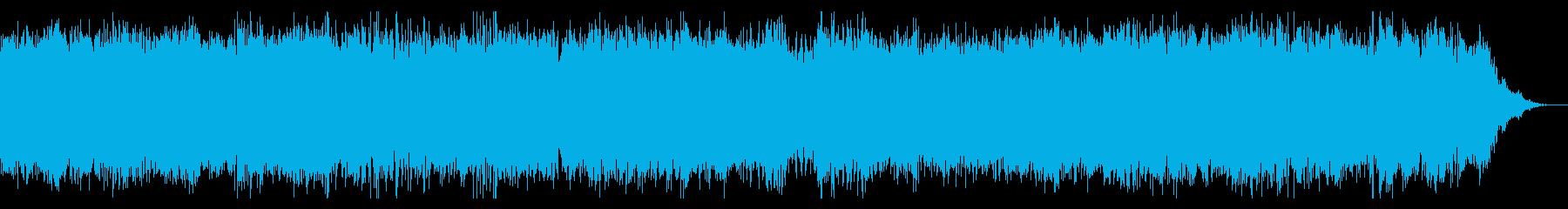宇宙的な牧歌の再生済みの波形