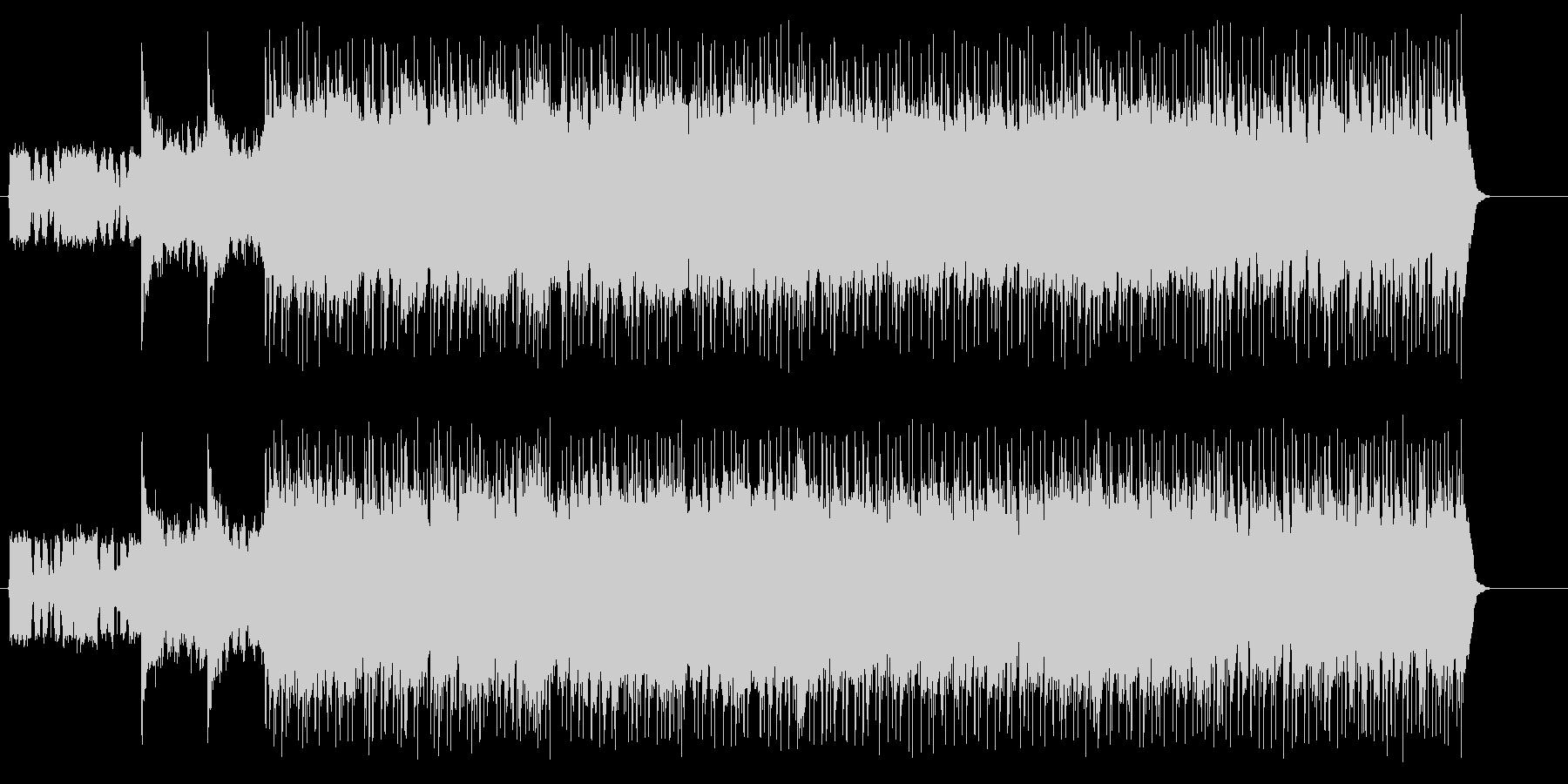 重たいアメリカンミディアムハードロックの未再生の波形