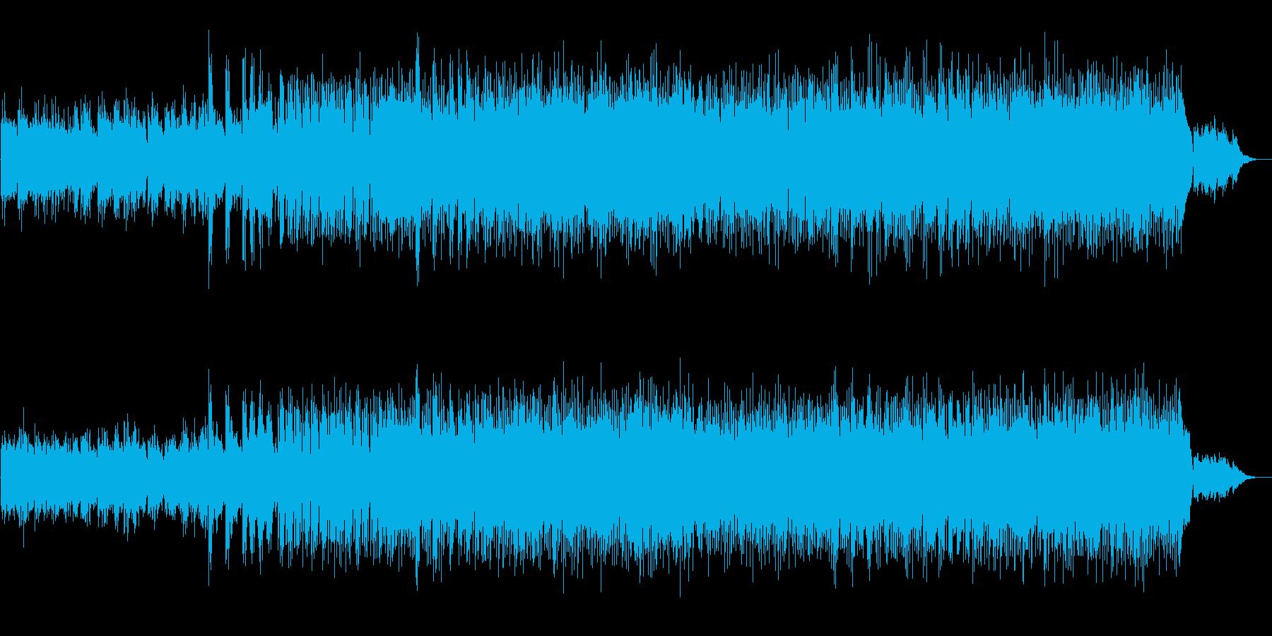 体の芯にまで染み込むラブ・バラードの再生済みの波形