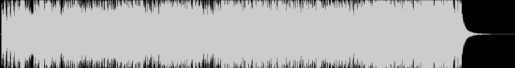 ジングルベルのオーケストラアレンジ版3の未再生の波形