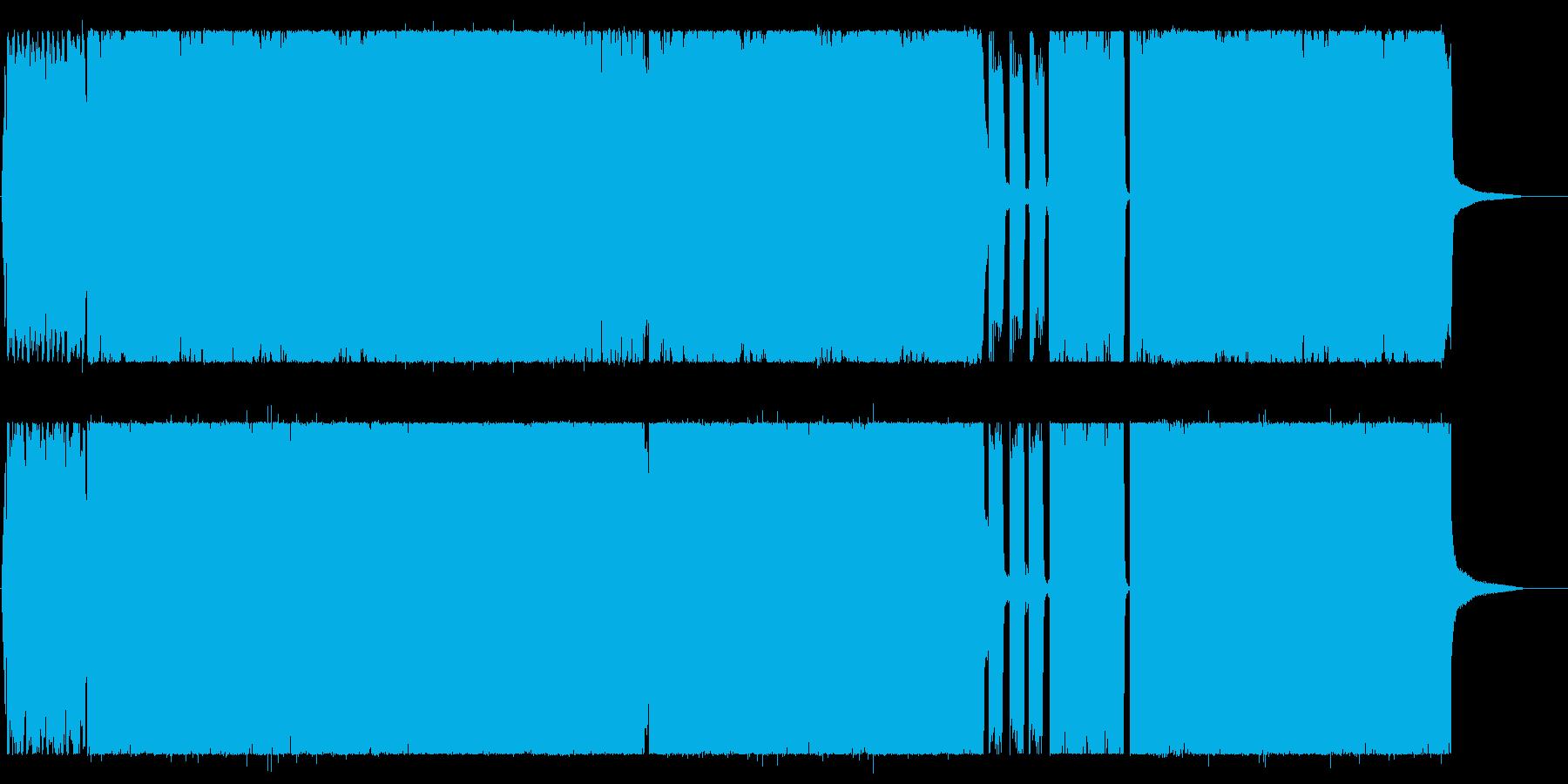 元気でキャッチ―なシンセポップポップスの再生済みの波形