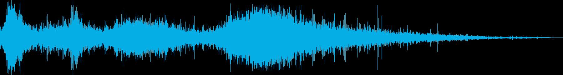 水に飛び込んだ 飛び込む時の効果音!3bの再生済みの波形