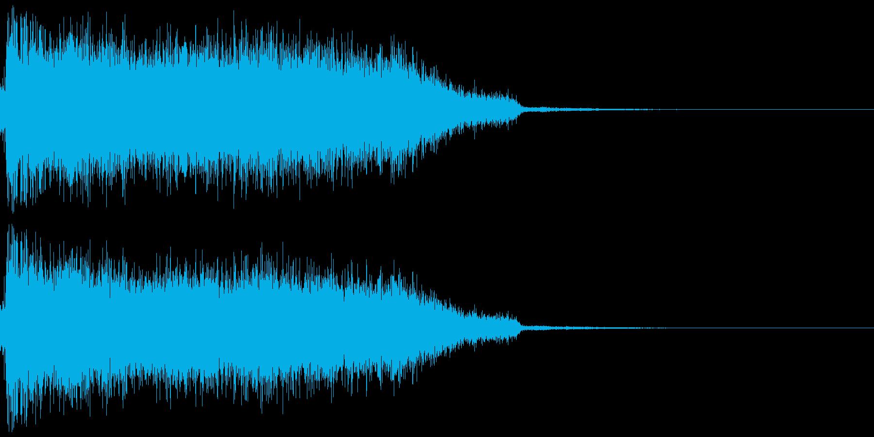 水魔法 (プッシャー)の再生済みの波形