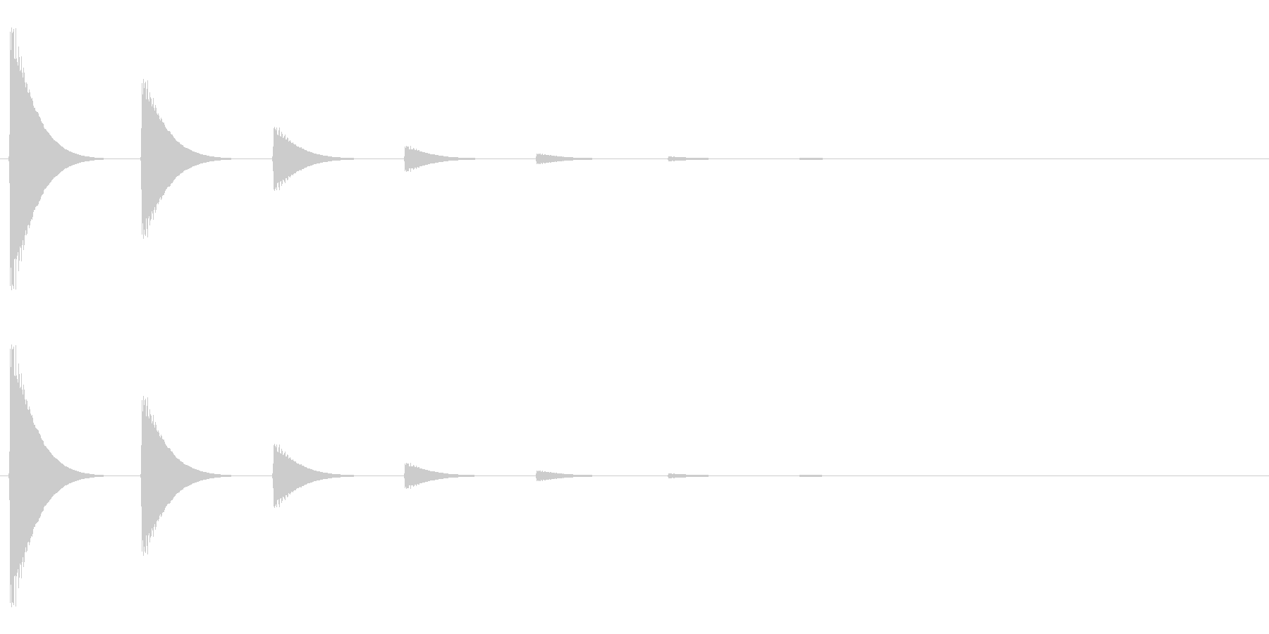 【アクセント05-3】の未再生の波形