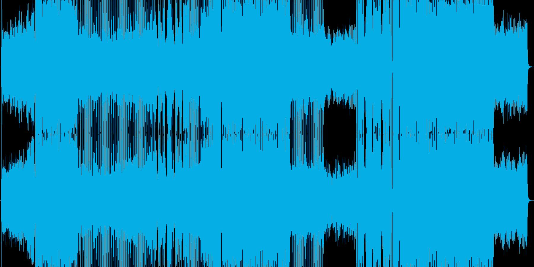 多角的なポップEDMの再生済みの波形