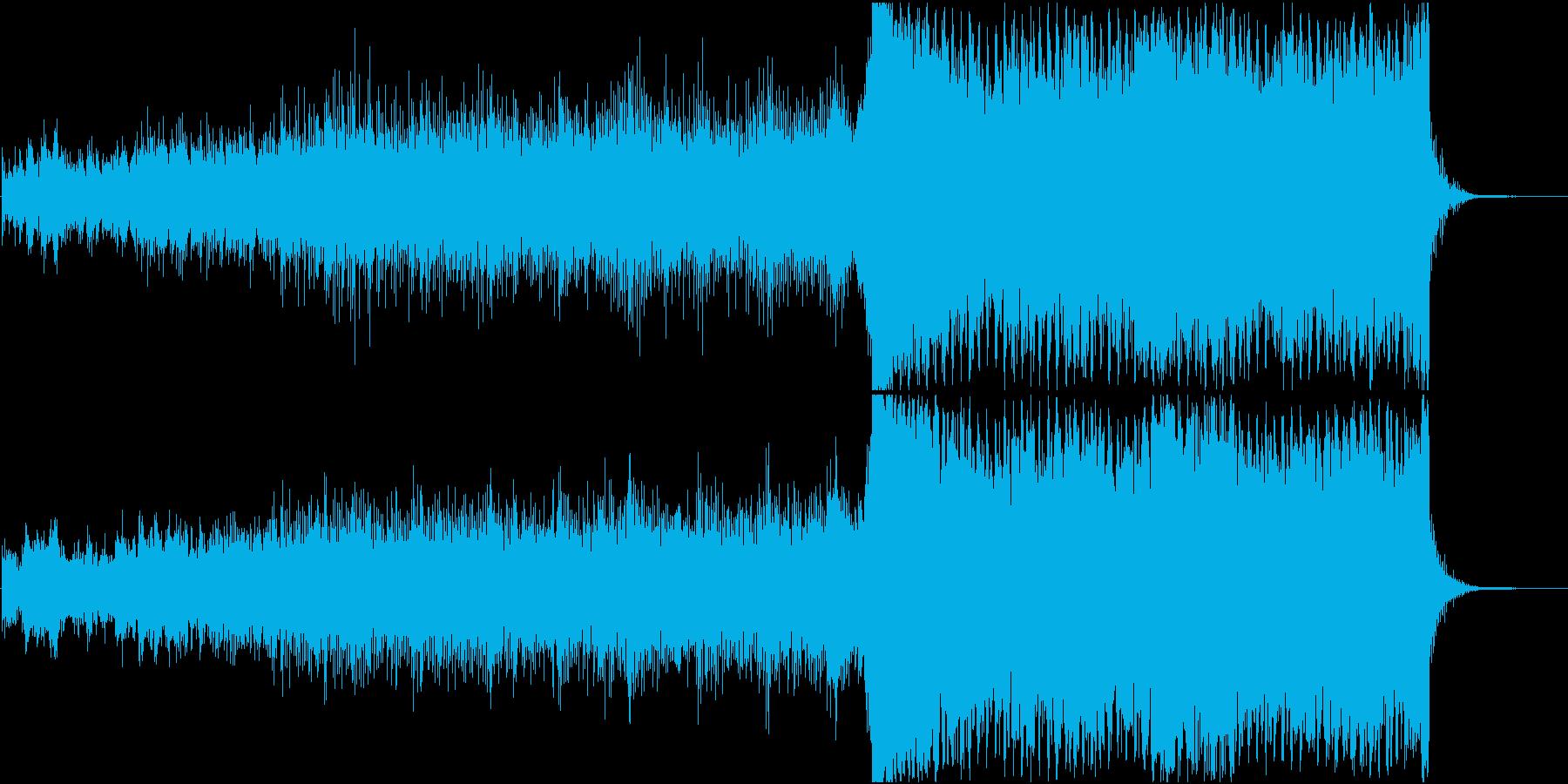 壮大なシーン向けアンビエントバラードの再生済みの波形