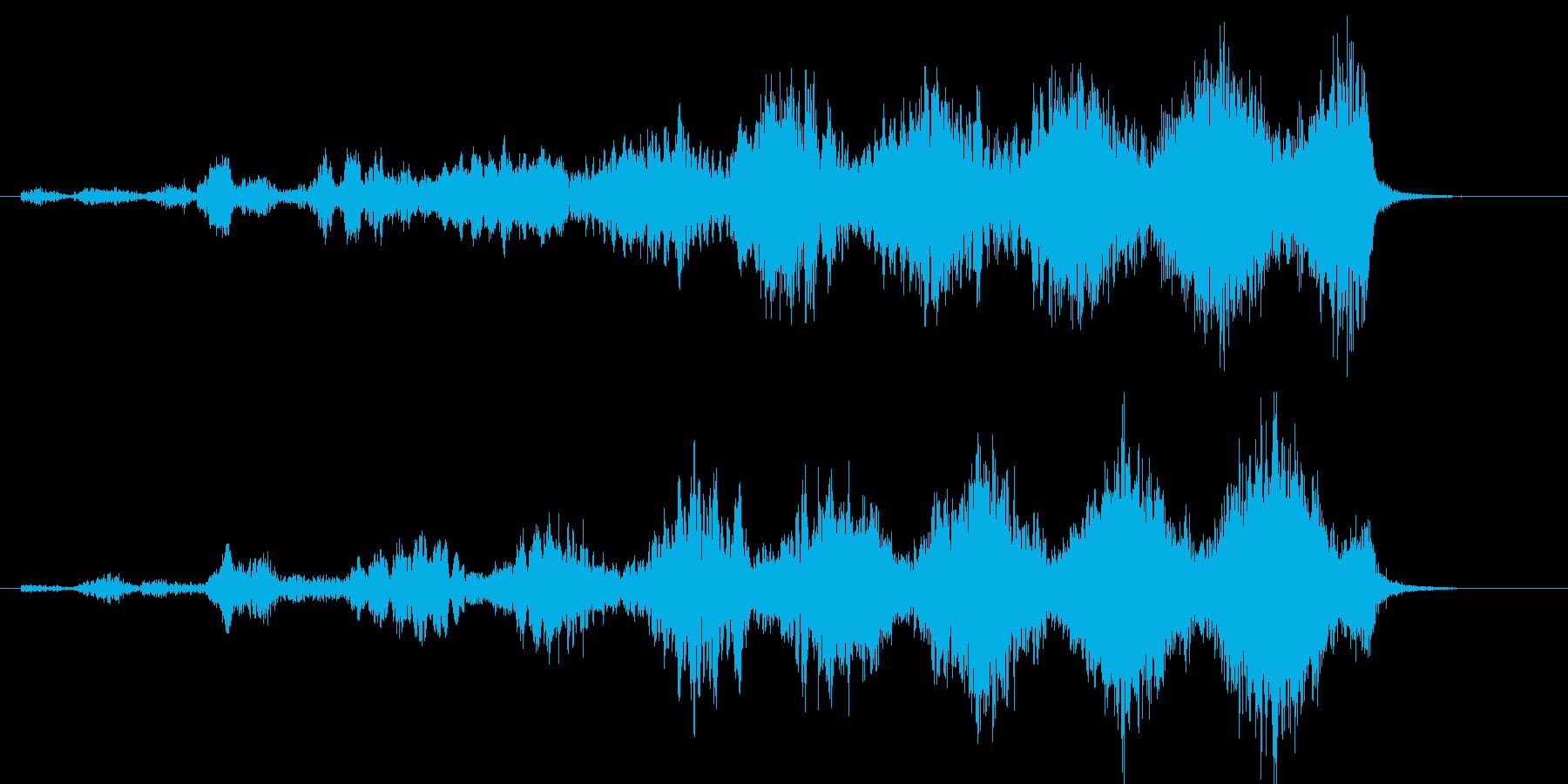 EDM系のDJ/音楽制作用フレーズ!04の再生済みの波形
