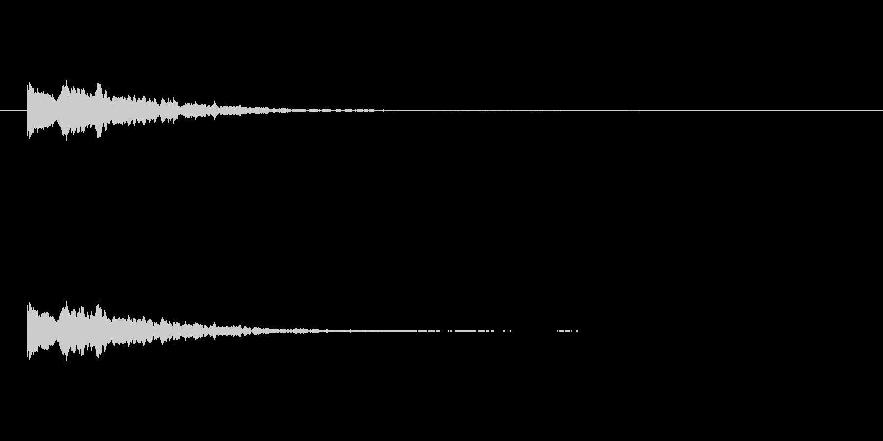 【ひらめき09-1】の未再生の波形