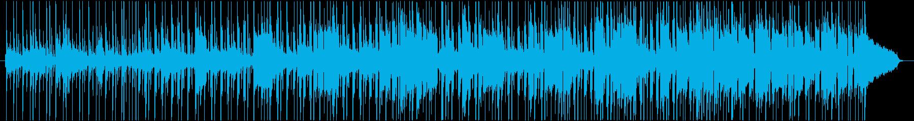 ムーディーで落ち着いたR&B(BGM)の再生済みの波形