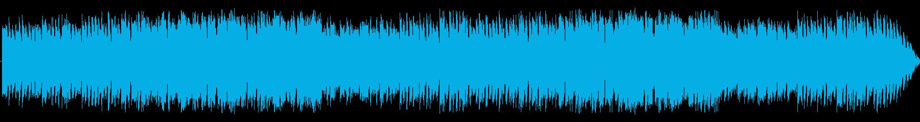 じめじめとした洞窟の曲の再生済みの波形