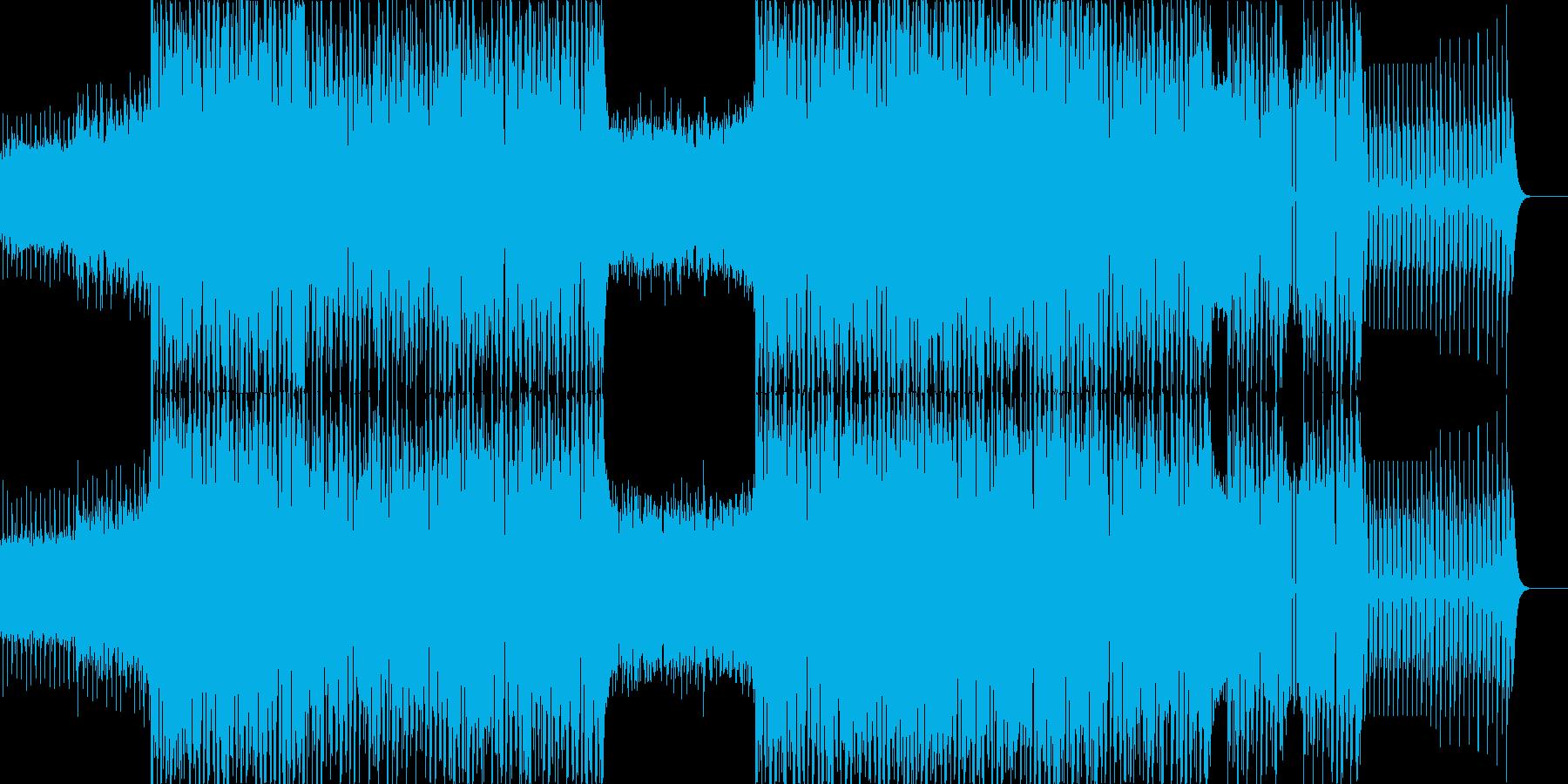 グルーヴ感が心地よいトランスサウンドで…の再生済みの波形