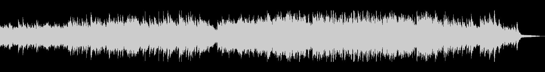 フルートとピアノのクラシックポップの未再生の波形