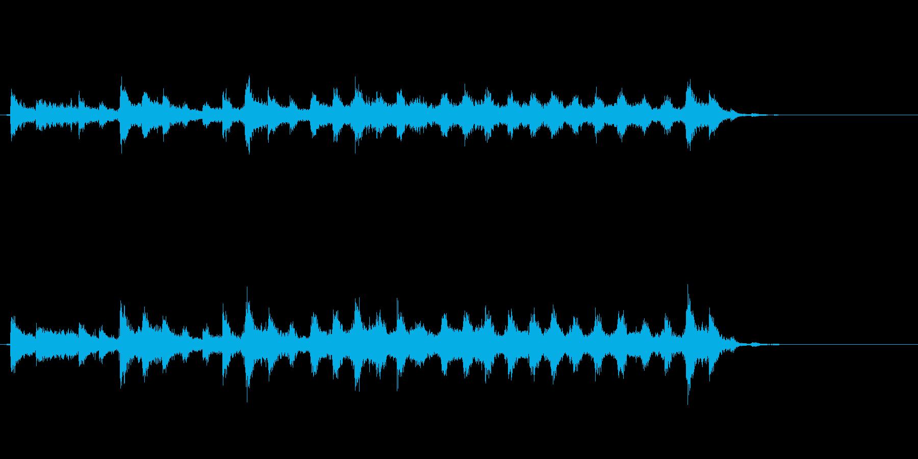 音侍「チャッパ」和製シンバルのフレーズ2の再生済みの波形