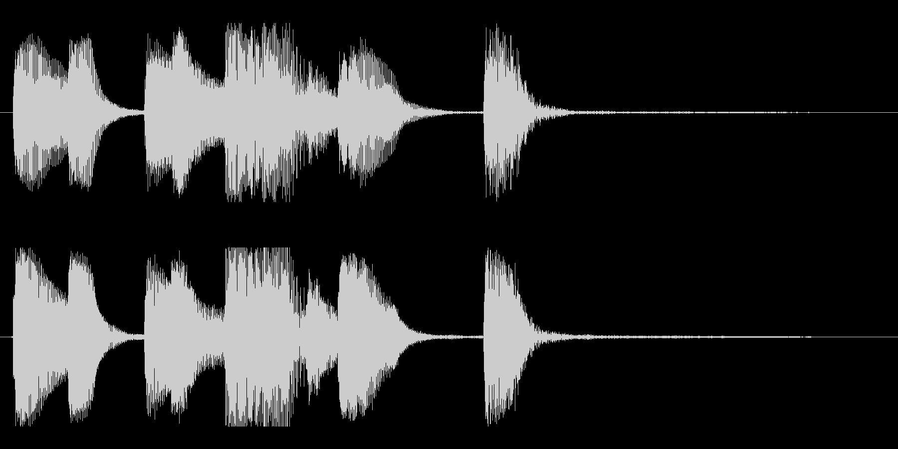 【バードランド1】の未再生の波形