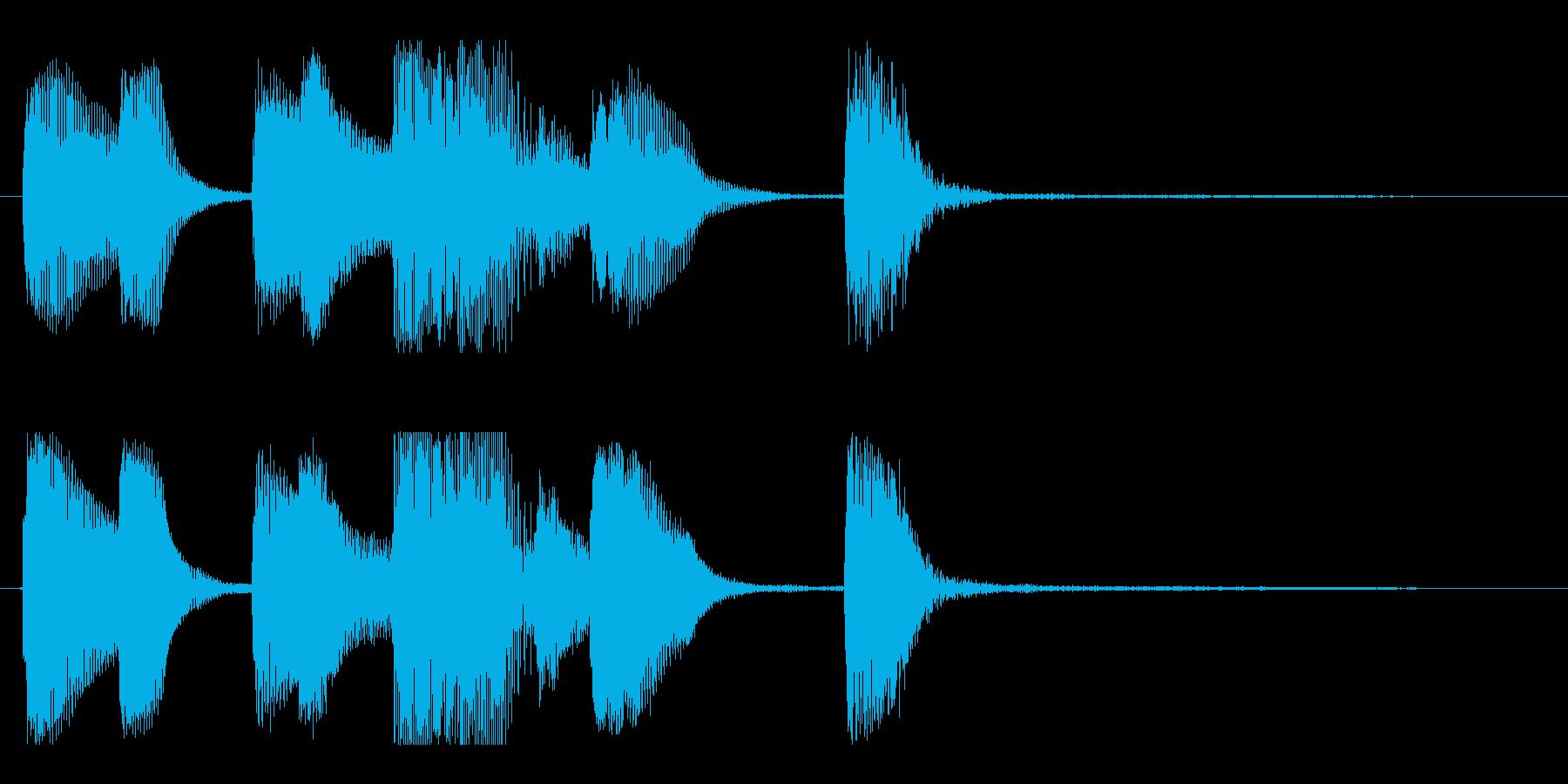 【バードランド1】の再生済みの波形