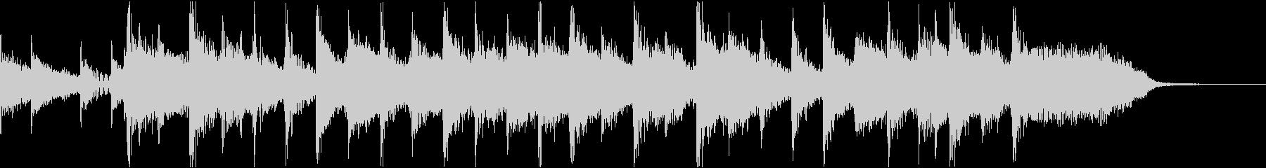 コーナータイトル ニューウェーブの未再生の波形