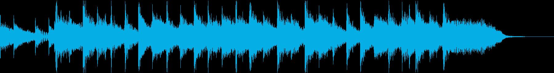 コーナータイトル ニューウェーブの再生済みの波形