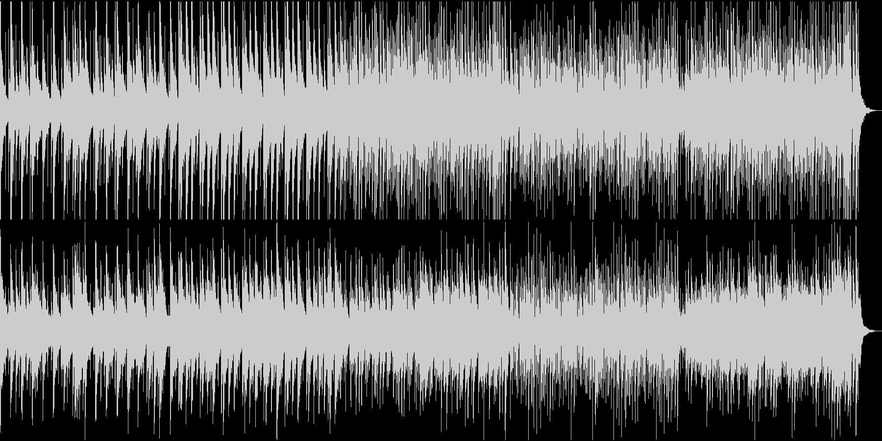 ハワイアン 夏のレジャーの未再生の波形
