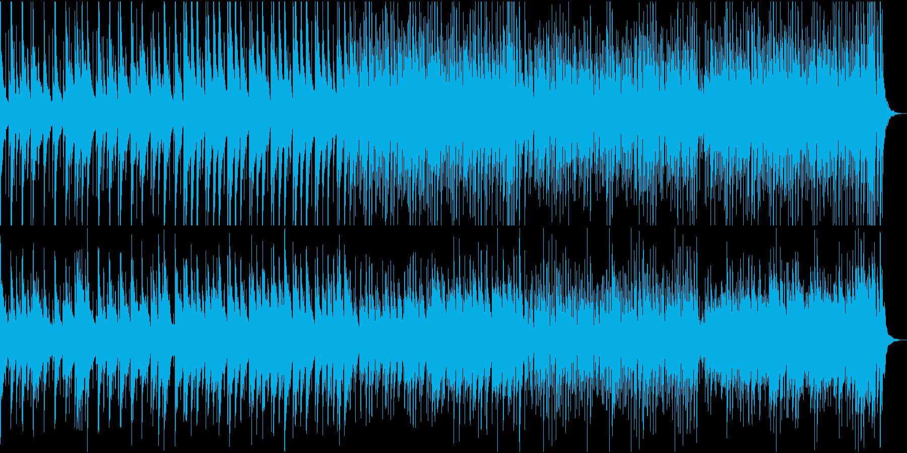 ハワイアン 夏のレジャーの再生済みの波形