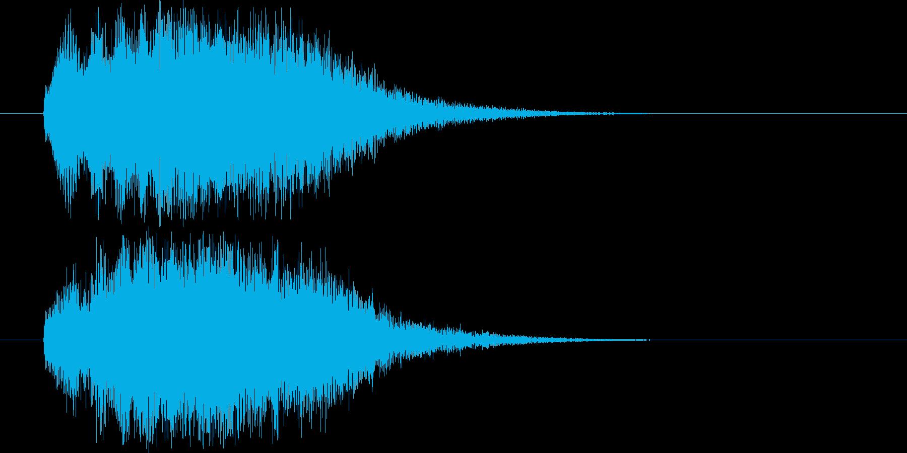 Bellチャイム_回復の再生済みの波形