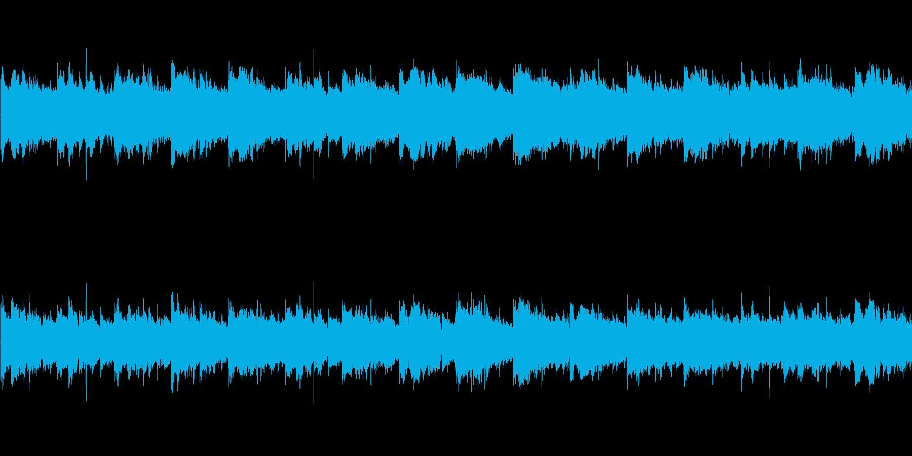 ゆったりとしたポップスの再生済みの波形