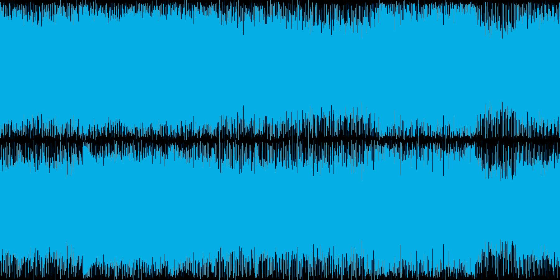 シンセリード・ロック系の通常戦闘風1の再生済みの波形