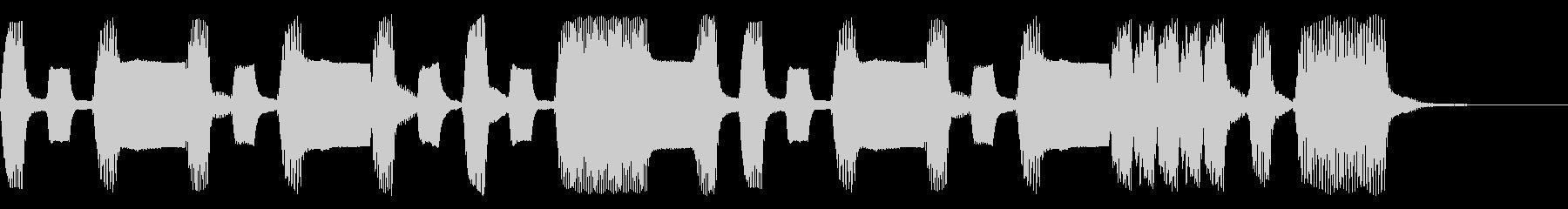 うきうき気分なリコーダージングルの未再生の波形